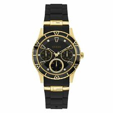 GUESS Analog Casual Ladies Valencia Multi-function Black W1157L1