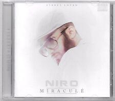 CD RAP FRANCAIS / NIRO - MIRACULE / 16 TITRES (ALBUM ANNEE 2014)