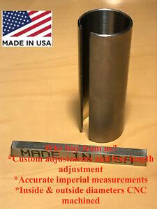 "5/8"" - 7/8"" x 3"" Shaft Adapter Pulley Bore Reducer Bushing Sleeve & Keystock"