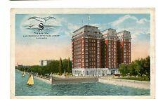 Vintage Postcard CHICAGO SISSON APARTMENTS Hyde Park 1922 Lake Michigan