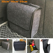 Universal Gray Organizer Car Home Storage Box Bag Fireproof Stowing Tidy Pack(Fits: More than one vehicle)