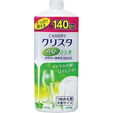 Detergent Charmy Christa deodorant gel dishwasher Refill large 840g Import Japan