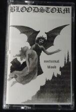 BLOODSTORM - Nocturnal Blood. Tape