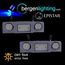 Para SKODA SUPERB 2008-Yeti 2010 - 48 Azul LED Lámpara De Cortesía Techo Interior Delantera