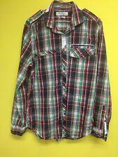 HENLEY & CO homme chemise, à carreaux, Petit