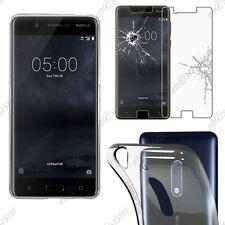 Housse Etui Coque Souple Ultra Fin Silicone Gel transparente Nokia 3, 5, 6