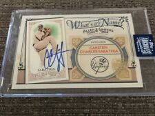 2020 Topps Archives Retired Edition CC Sabathia Auto #'d 1/1 !!! Yankees MINT!!