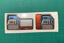 Replacement Decals Stickers for Mighty Backhoe Tonka Truck 3931 Waterproof Vinyl