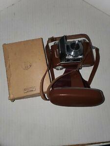 Kodak  Retina IIa 35 mm camera with leather case