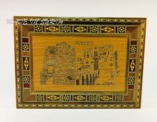 VINTAGE MOSAIC WOODEN JEWELLERY AND ACCESSORIES BOX 28x25x6cm علبة موزييك