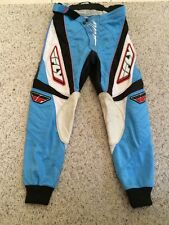 Fly Racing 805 Motocross Motorcycle Racing Pants Size 28 Youth - Fast Ship!