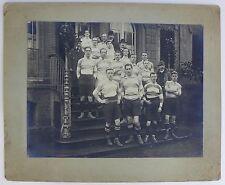 Anonyme - Rugby Team - Tirage argentique d'époque 30 x 40 cm 1910 -