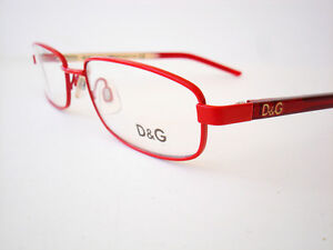 Dolce & Gabbana Eyeglasses D&G 4152 Red F44 Authentic 49-17-135 *CLEARANCE*
