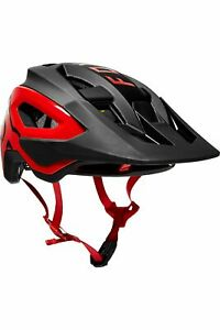 Fox Racing Speedframe Pro Helmet, Black/Red, Medium
