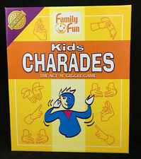 Cheatwell Games Charades Kids Imaginative Classic Party Game Play Young Kids
