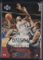 🔥💎 LEBRON JAMES 2004 Upper Deck VIP NATIONAL Convention SP RC Cavs Lakers VIP1