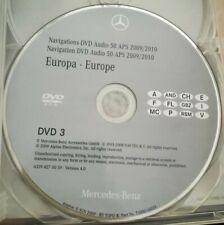 Mercedes Navigation Audio 50 APS 2010 / DVD3 ITALIA ESPANA FRANCE  NTG2.5 türkis