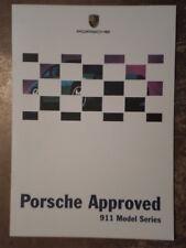 PORSCHE 911 orig 1999 UK Mkt Factory Issued Model Series Brochure - 964 993 996