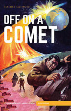 Classics Illustrated Hardback Off on a Comet (Jules Verne) (Brand New)