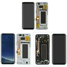 NEW For Samsung Galaxy S8 + G955U G955F LCD Display Touch Digitizer + Frame