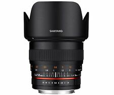 Samyang 50mm F1.4 AS UMC Full Frame Standard Lens for Pentax K DSLR + Free GIFT