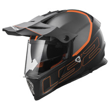 Caschi Casco Ls2 Pioneer Mx436 Element Matt Titanium / Black L 404362207-l