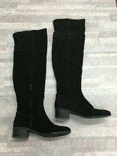 Steve Madden Tyga Overknee Stiefel Farbe Schwarz Größe: 7.5 M