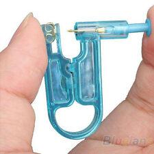 Disposable Safe Asepsis Body Ear Pierce Kit Ear Piercing Gun+1 pc Ear Stud