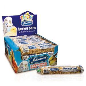 Johnsons Budgie Treat Bundle Pack 10X Honey Bars