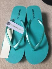 O'NEILL Wedge Flip Flops size women UK 6 new with tag