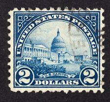 US 1923 Used Scott #572 United States Capitol!