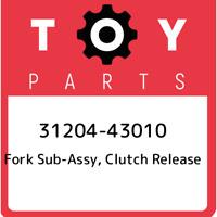 31204-43010 Toyota Fork sub-assy, clutch release 3120443010, New Genuine OEM Par