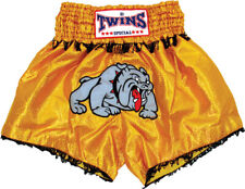 Twins Thai Style Trunks - Small - Bulldog