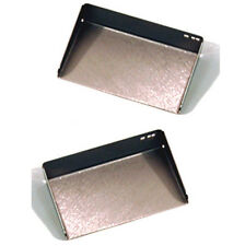 Pair of Metal Desktop Office Note Holders / Desk Tidy - ZAISOHONHX2