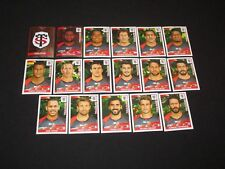 STADE TOULOUSAIN TOULOUSE  Equipe team Complete panini RUGBY 2015-2016 TOP 14