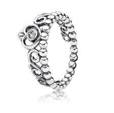Genuine Pandora Princess Tiara Ring 190880CZ