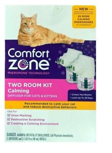 COMFORT ZONE Two Room Kit Calming Diffuser Cats & Kittens  (PACKAGING MAY VARY)