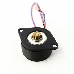 MOONS 0.9 Degree Micro Mini 36MM Round 2-Phase 4-Wire Stepper Motor Copper Gear