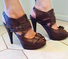 Tony Bianco Medium (B, M) Stiletto Solid Heels for Women