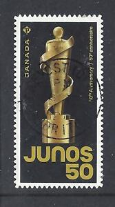 2021 Juno Awards 50th Anniversary Single P stamp CDS First Day Cancel