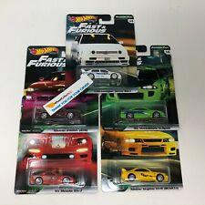 Original Fast 5 Car Set * Hot Wheels Premium Fast & Furious Original Fast * HD12