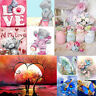 5D Animal Flower DIY Diamond Painting Embroidery Cross Stitch Kit Home Art Decor