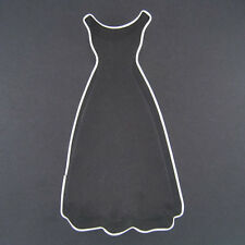 "CINDERELLA DRESS 4.75"" METAL COOKIE CUTTER BALL GOWN BRIDAL SHOWER PARTY FAVOR"