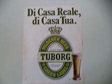 advertising Pubblicità 1980 BIRRA BEER TUBORG
