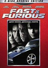 Fast & Furious (DVD, 2009, 2-Disc Special Edition) BILINGUAL