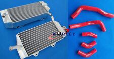 Aluminum radiator & hose Honda CRF450R CRF450 2005 2006 2007 2008 05 06 07 08