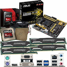 AMD Kaveri A10 7850K 3.7Ghz & ASUS A88XM-PLUS Inc Radeon R7 GFX & 32GB DDR3 1600