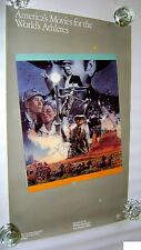 Rare 1984 Drew Struzan Games of the XXlllrd Olympiad Athlete Promo Poster 22x36