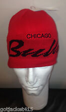 CHICAGO BULLS KNIT BEANIE by ADIDAS - Officially Licensed NBA