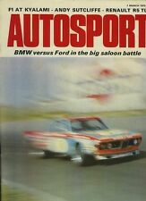 Autosport 1st 1973 de marzo * Mintex 7 Dales Rally *